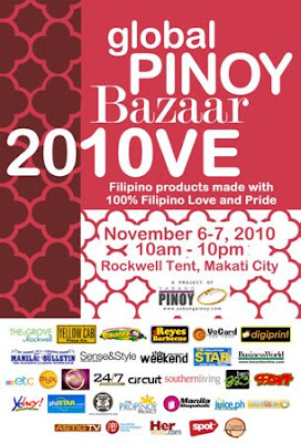 Sale Alert: Global Pinoy Bazaar 2010 at the Rockwell Tent (Nov 6-7)