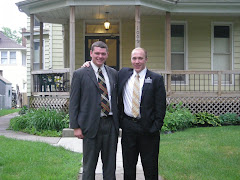 Elder Hale and Elder Thurman, Clinton Iowa