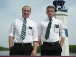 Elder Hale and Elder Eldredge,       The Clinton Iowa Elders