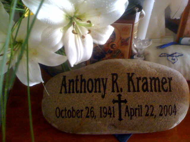 Memorial Stone for Anthony R. Kramer