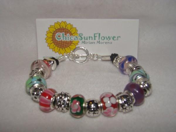 El Blog De Chicasunflower  Pulseras Tipo Pandora De Plata 925