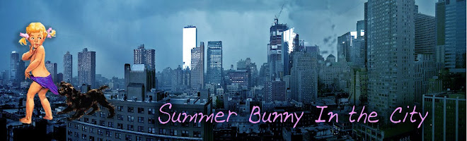 summer bunny in the city