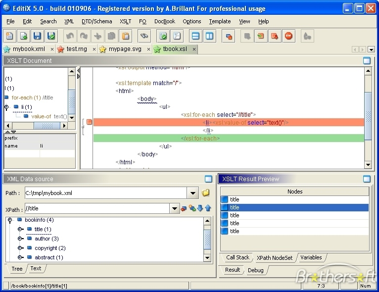 EditiX XML Editor b for download - 2shared