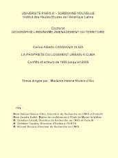 La propiedad de la vivienda urbana en Cuba. Conflictos y actores desde 1959 hasta el 2005