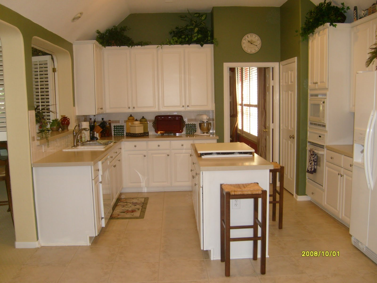 Design in the woods kitchen remodel before and after for Kitchen remodel before after