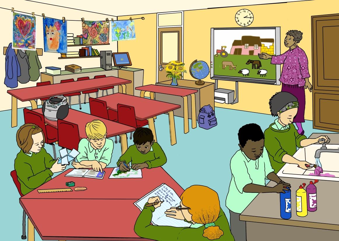 Teacher S Room Animated