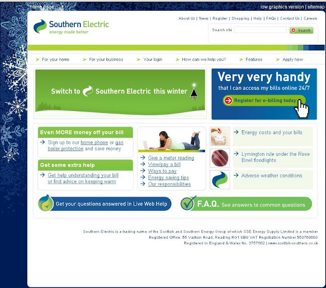 Southern-Electric.co.uk - login to MyAccount - View & Pay Bills Online
