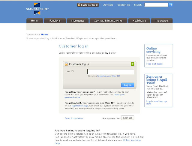Standard Life Login - Customer Account Login to www.standardlife.com