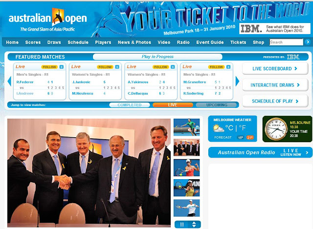 The Australian Open 2010 Official Website - www.AustralianOpen.com