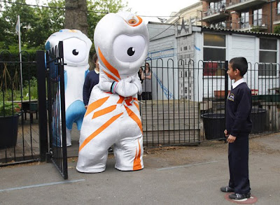 London 2012 olympic mascots unveiled