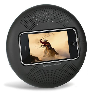 dock iphone portable Dock iPhone Portable avec Haut Parleurs