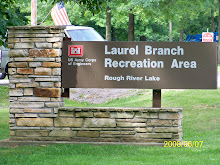 Laurel Branch Sign Upon Entrance Of Campground
