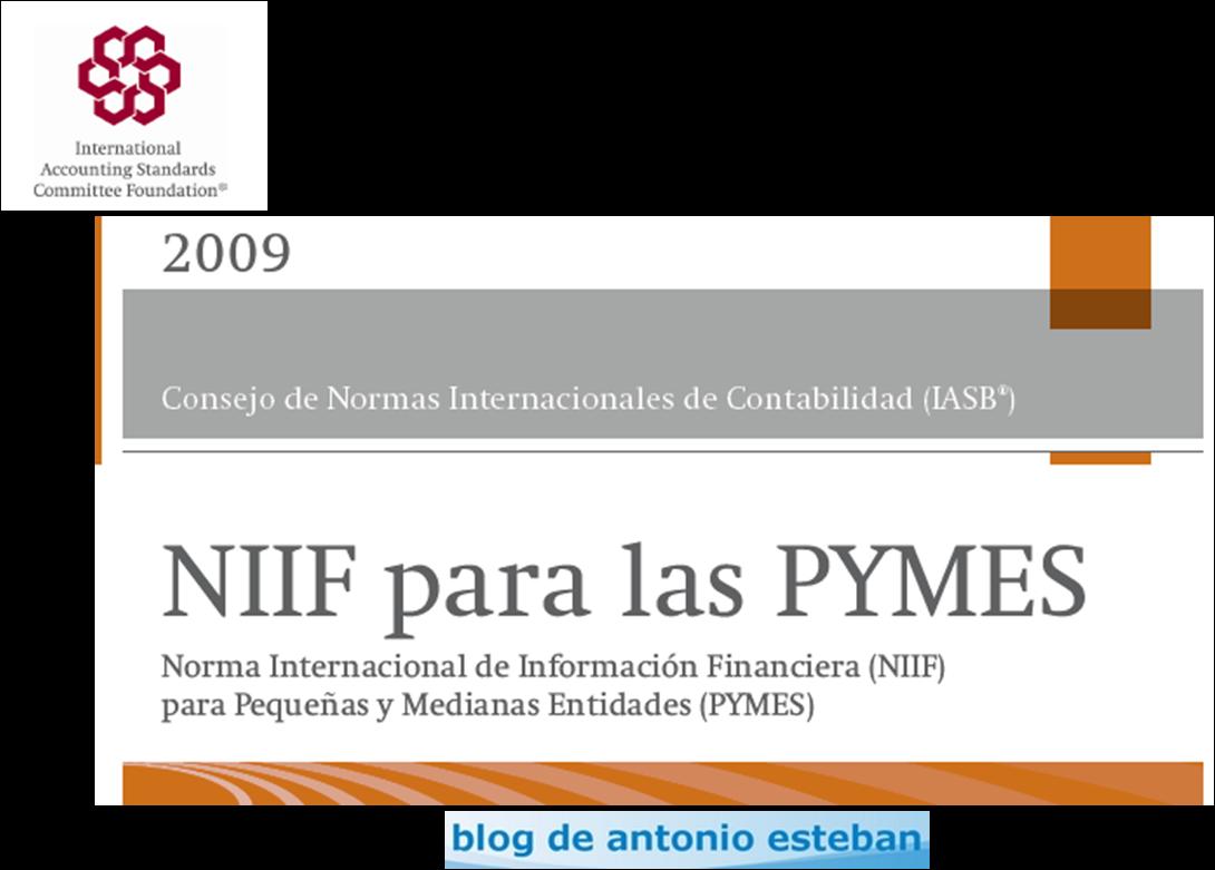 El objetivo de la NIIF para las PYMES. | Contabiliza bien, tributa y ...