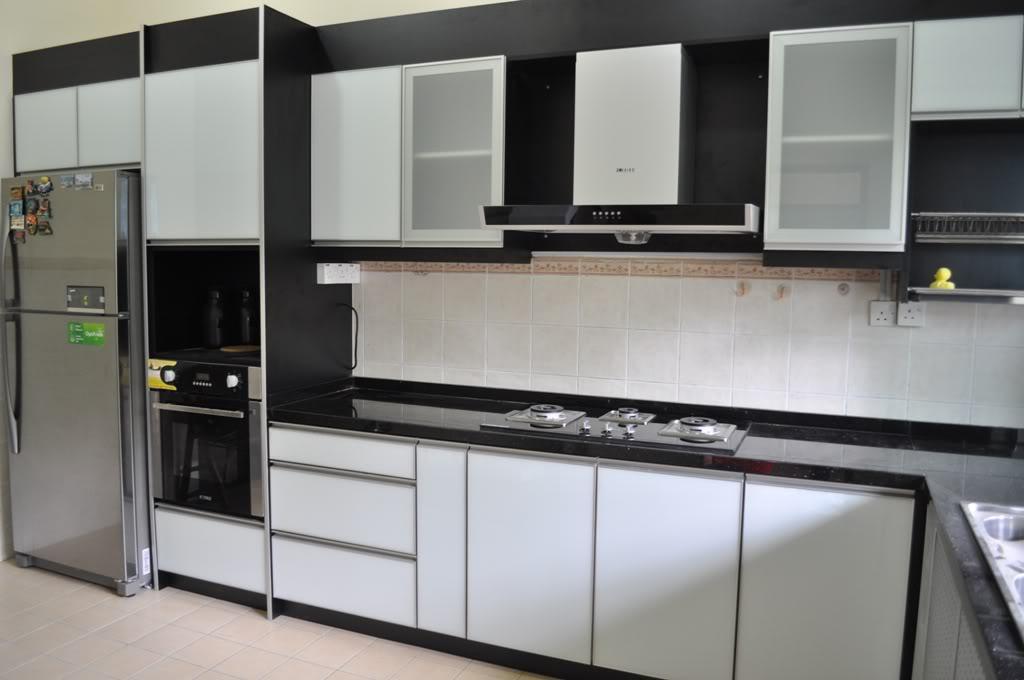 Finally kami pilih nak buat 3G Kitchen cabinet! woot wooott~