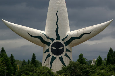 Tower of the Sun (Taiyou no tou) - Expo Park, Osaka, Japan