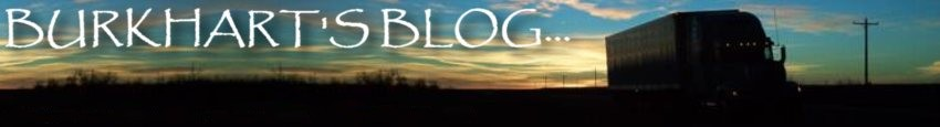 Burkhart's Blog