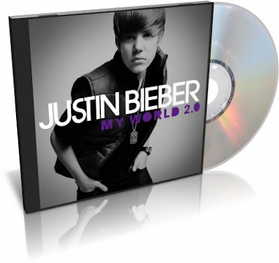 CD Justin Bieber My World 2.0