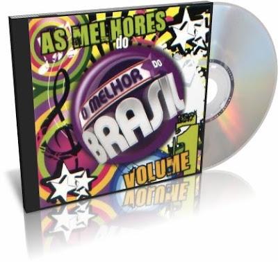 CD As Melhores Do O Melhor do Brasil