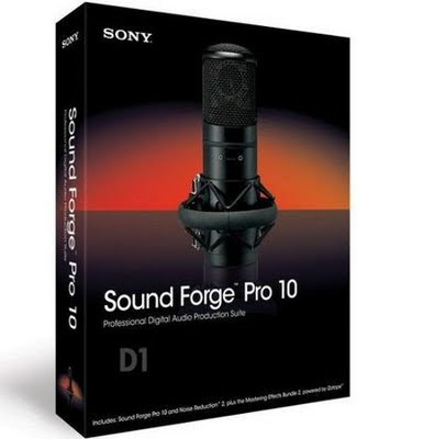Sony Sound Forge Professional 10