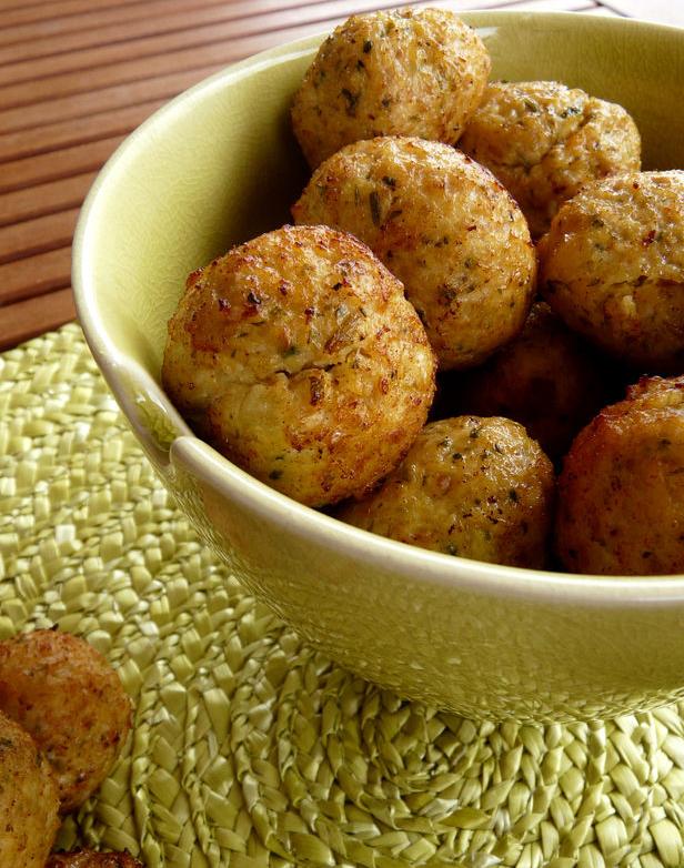 Cannelle piment boulettes de poulet thai - Absorber l humidite avec du riz ...