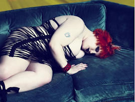 Beth Ditto couch