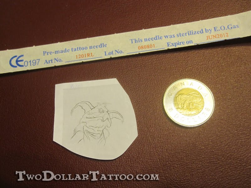 the two dollar tattoo project two dollar salacious b