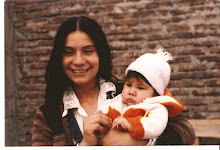 Araceli y su hija Marcela