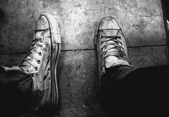 two shoes self portrait