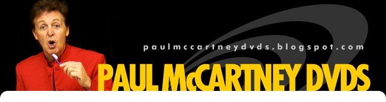 PAUL MCCARTNEY DVDs