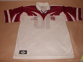 segunda camisa da Desportiva Ferroviária 1998