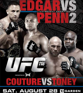 Watch UFC 118: Edgar vs Penn 2 Replay Video