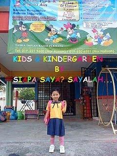 KIDS & KINDERGARDEN BY SIAPA SAYA? SAYALAH..