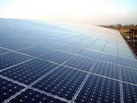 Solarpark Altbarnim nach der Fertigstellung