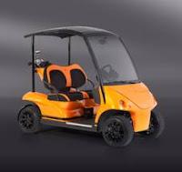 Garia Edition Soleil de Minuit golf car