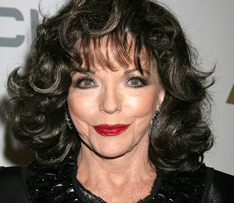 joan collins age. joan collins young.