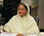 Sheikh Hasina Wazed Prime-Minister  of Bangladesh