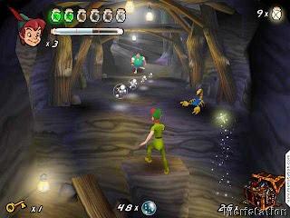 Juegos PC :Peter Pan En El País De Nunca Jamás
