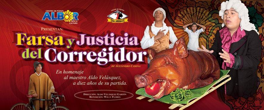 Farsa y Justicia del Señor Corregidor