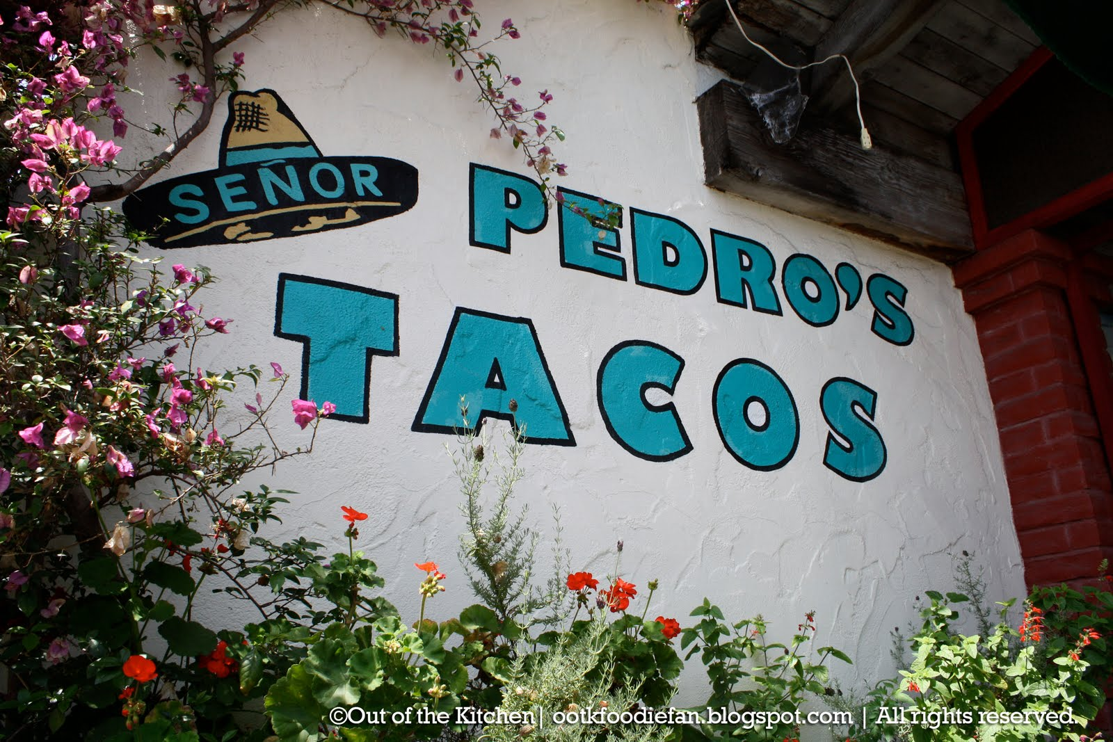 Out of the Kitchen - Food Adventures: Señor Pedro\'s Tacos | San Juan ...