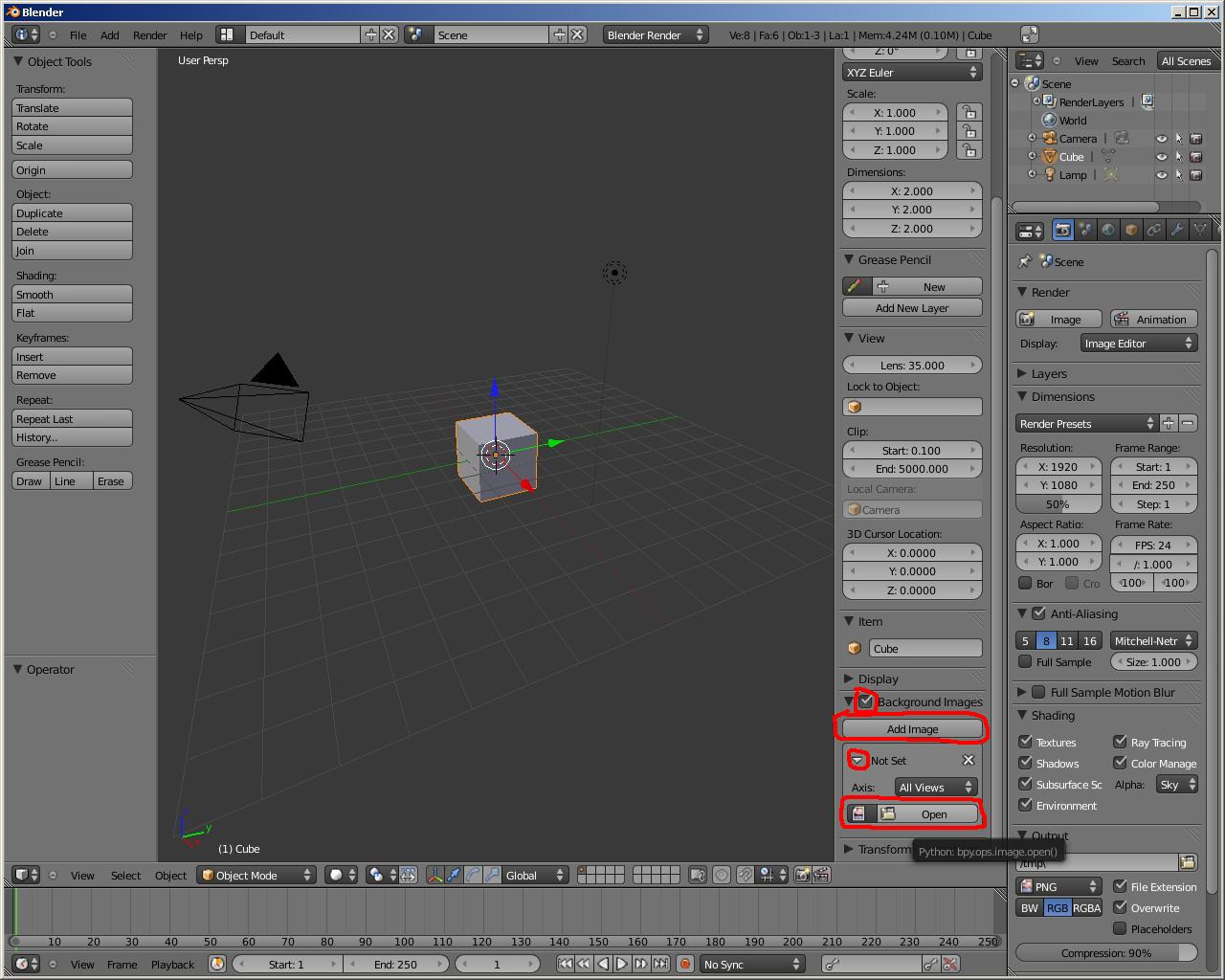 blender how to use image as world