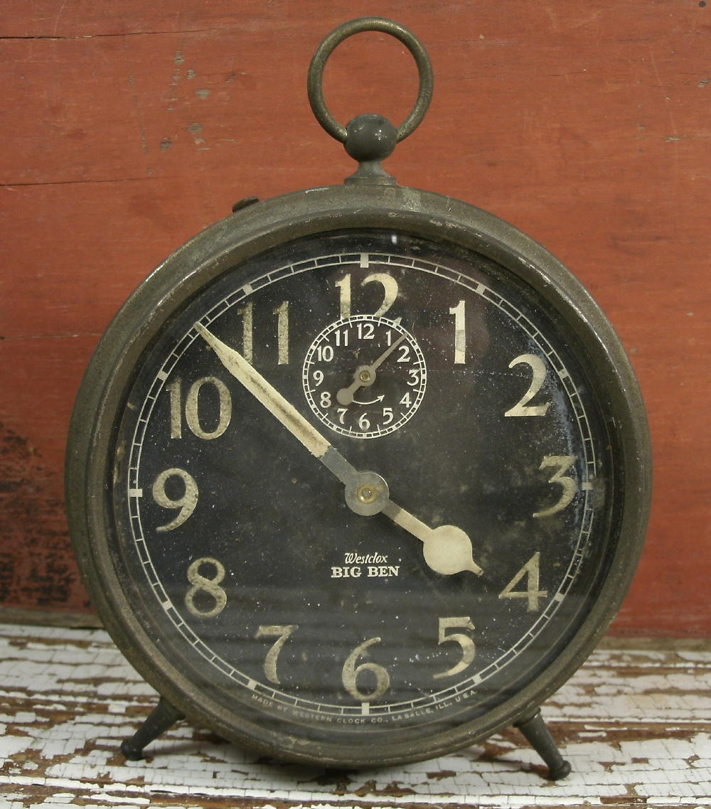 The Frosted Gardner: One Thing Wednesday - Vintage Alarm Clock