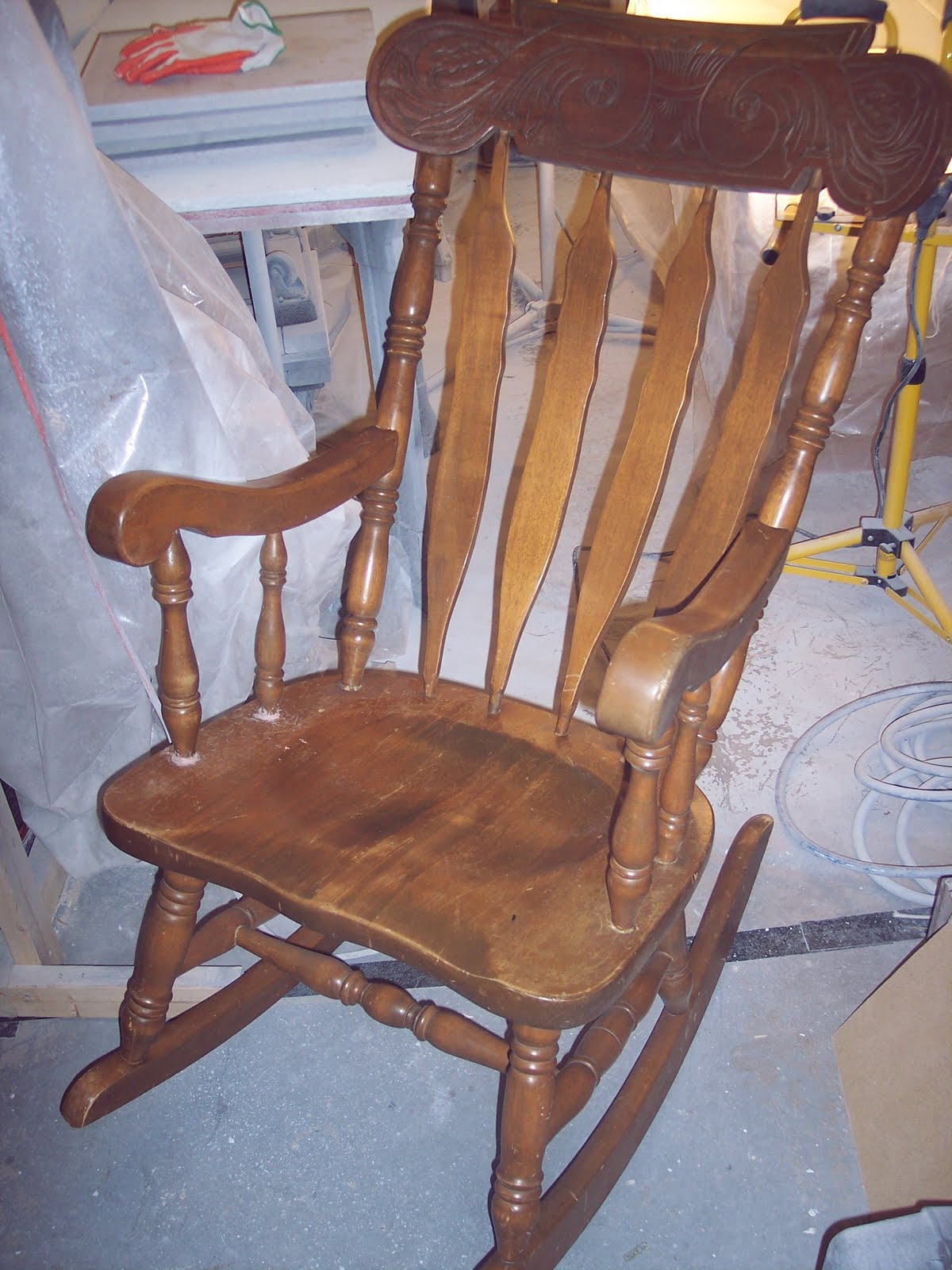 Merveilleux The West Rocking Chair   Custom Refinish Before U0026 After