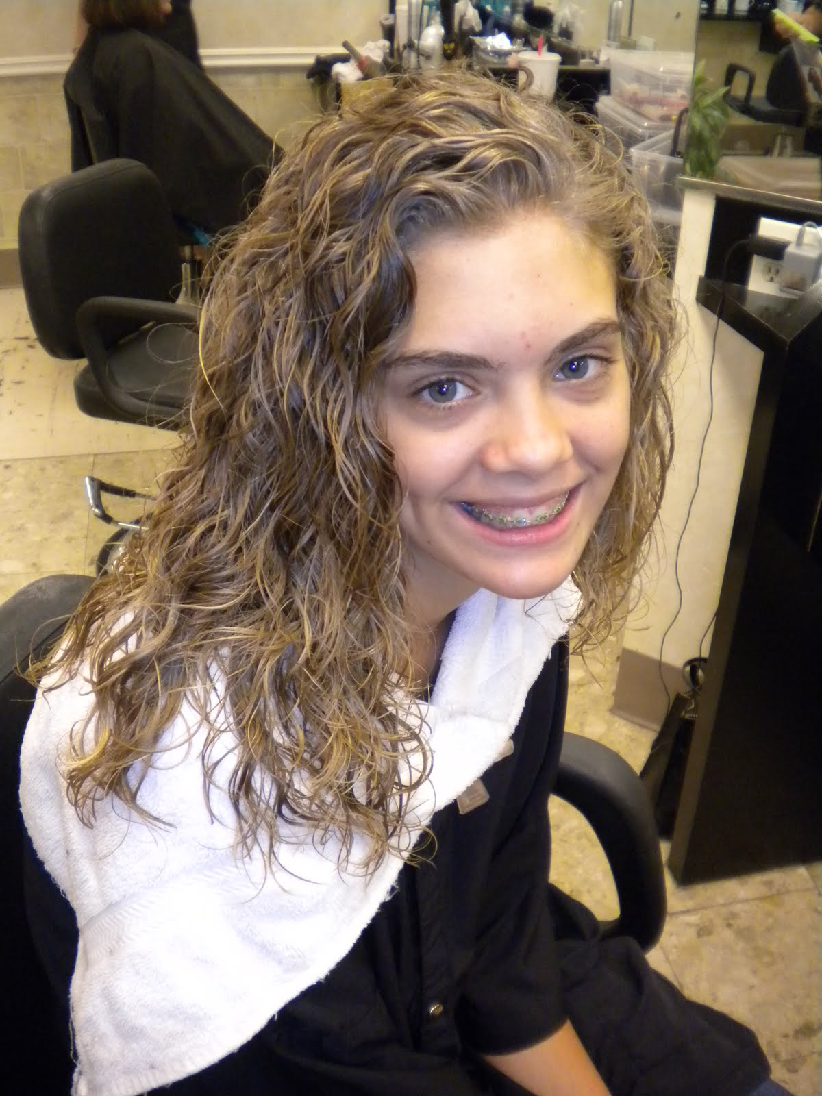 Hairstyle After Perm : ... besides Nick Cannon Hairstyles. on before and after curly hairstyles