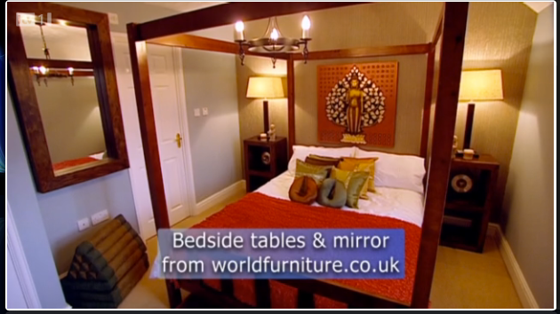 World furniture wf on itv 39 s 60 minute makeover 28th may for 60 minute makeover bedroom designs