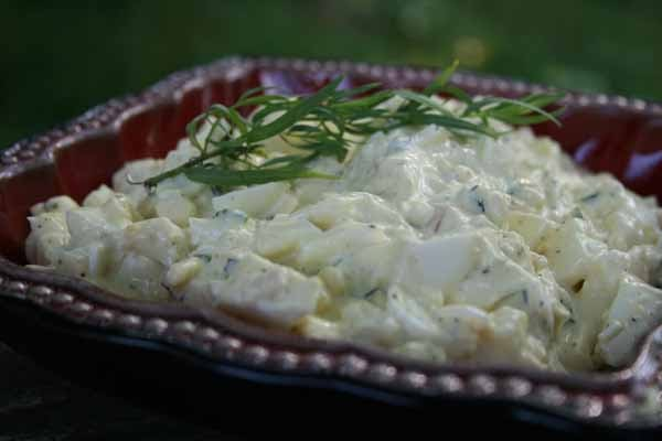 Recipe Shoebox: Tarragon Shallot Egg Salad Sandwiches