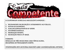 CONHEÇA OS NOSSOS ADOLESCENTES!