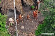 Novas fotos únicas de índios isolados no Brasil (indios contactados)