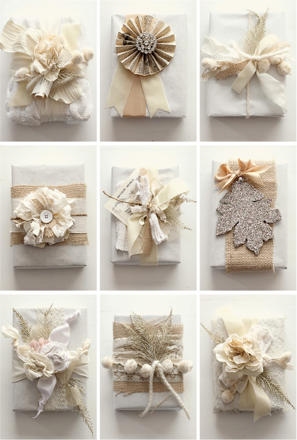 Sara Baig Designs Holiday Ideas Gift Wrapping
