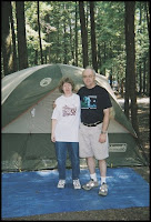 Tenting in Cook's Forest State Park