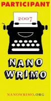NaNoWriMo 2007 icon
